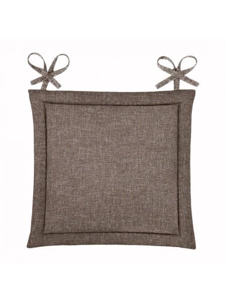 "Подушка ""Home&Style"" для стула 40*40 (шоколад)"