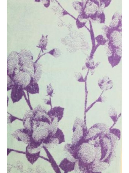 Полотенце махр. 50*90 Цветы