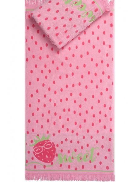 Полотенце махр. 70*130 Sweet Strawberry