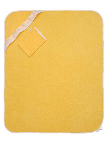 Полотенце-уголок 110*110 ВВХБК детское цвет в ассортименте