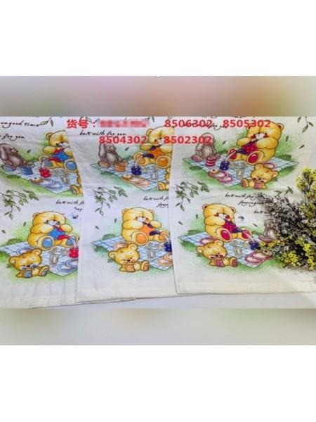 Полотенце велюр/ткань 70*140  для детей 8506302