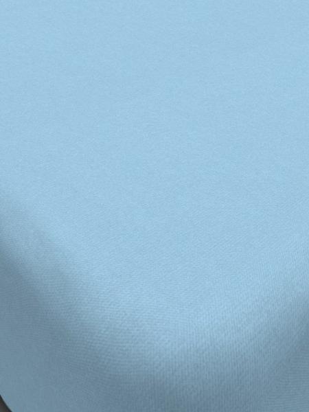 Простыня на резинке из сатина 200*200*20 цв. в ассортименте