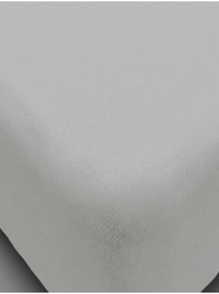Простыня на резинке из сатина 90*200*20 цв. в ассортименте