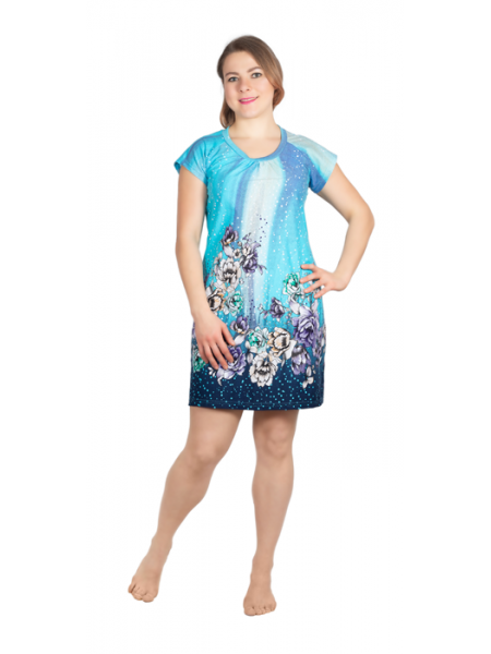 Сорочка с коротким рукавом с-40-04