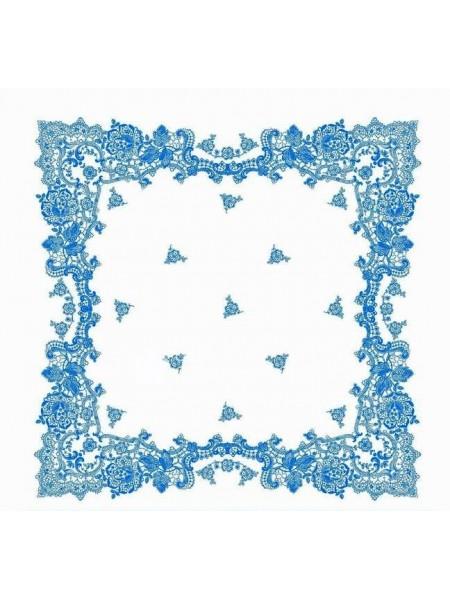 Платок носовой УНИ 30*30 (100%хл.) цв.в ассортименте