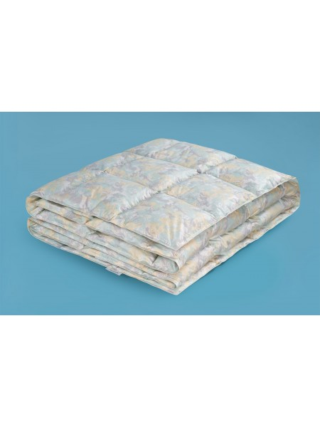 Одеяло 1,5сп пуховое (80% пух)
