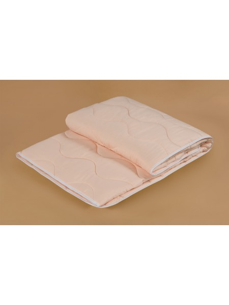 Одеяло Евро. овечья шерсть облегченное стёганое (чехол-хлопок 100%)