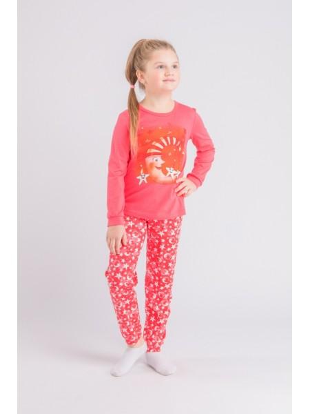 Пижама детская для для девочки(200855,201865/202753), рост 134 цвет в ассорт.