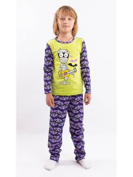Пижама детская для мальчика 201884/95/202771 рост 134 цвет в ассорт.