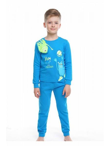 Пижама детская для мальчика (интерлок) Клевер