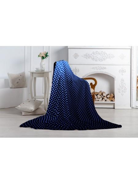 Плед 1,5 сп (150*200) Аэро Софт Radiant синий