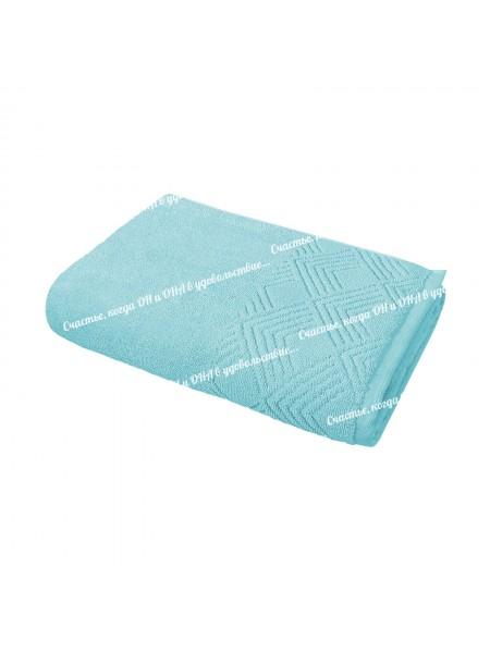 Полотенце 50*90 махр. 500гр/м2 (голубой)