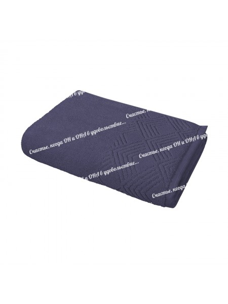 Полотенце 50*90 махр. 500гр/м2 (коричневый)