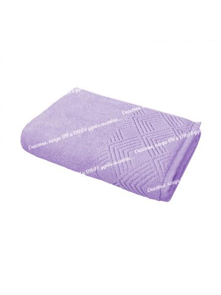 Полотенце 50*90 махр. 500гр/м2 (сиреневый)