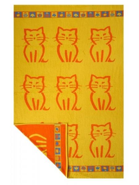 Полотенце махр. 100*150  Kitty