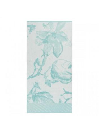 Полотенце махр. 50*100 бамбук 35% Blue magnolia пл.520гр.