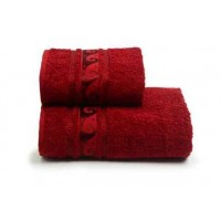 Полотенце махр. 50*90 Elegans 460гр/м2 (бордовый)