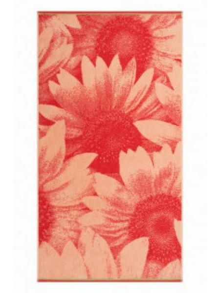 Полотенце махр. 70*130  Солнечные цветы