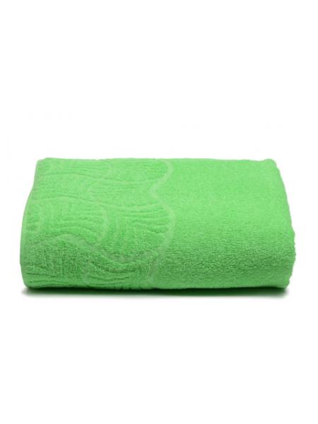 Простыня махровая 150*200/нд-2201-02057 цв. зеленый