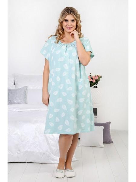 Сорочка ночная (100%хлопок)Перышко-2