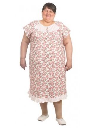 Сорочка ночная (хлопок) С-05-01размеры 44-70