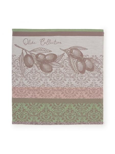 Полотенце-салфетка  кух. гладкотк. 50*50 Olive land