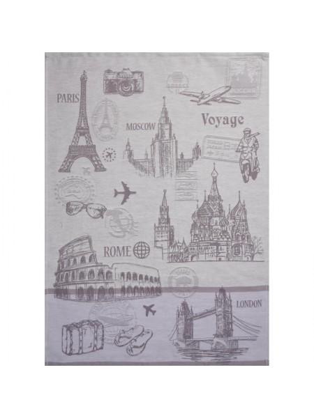 Салфетка гладкотканая 50*70 Bon Voyage