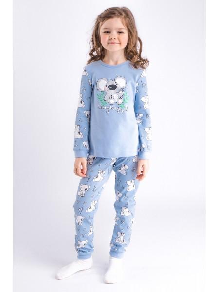 Пижама детская для девочки 211818, рост 110