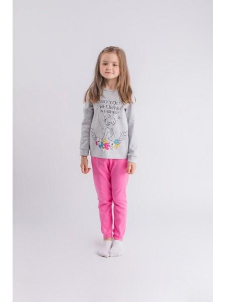 Пижама детская для девочки 212417, рост 98