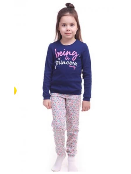 Пижама детская для девочки 258864, рост 110