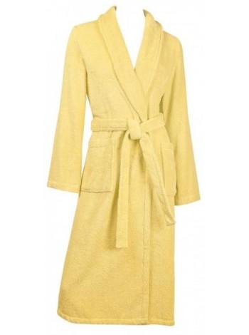 Халат жен махровый гладкокрашеный Sveltezza (желтый)